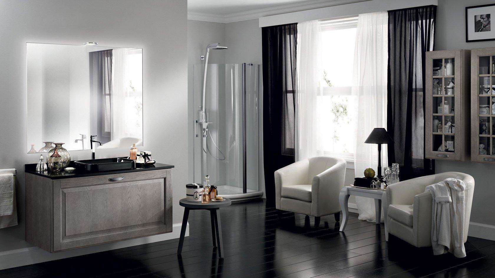 Logica d'arredo - il bagno - Scavolini - Baltimora