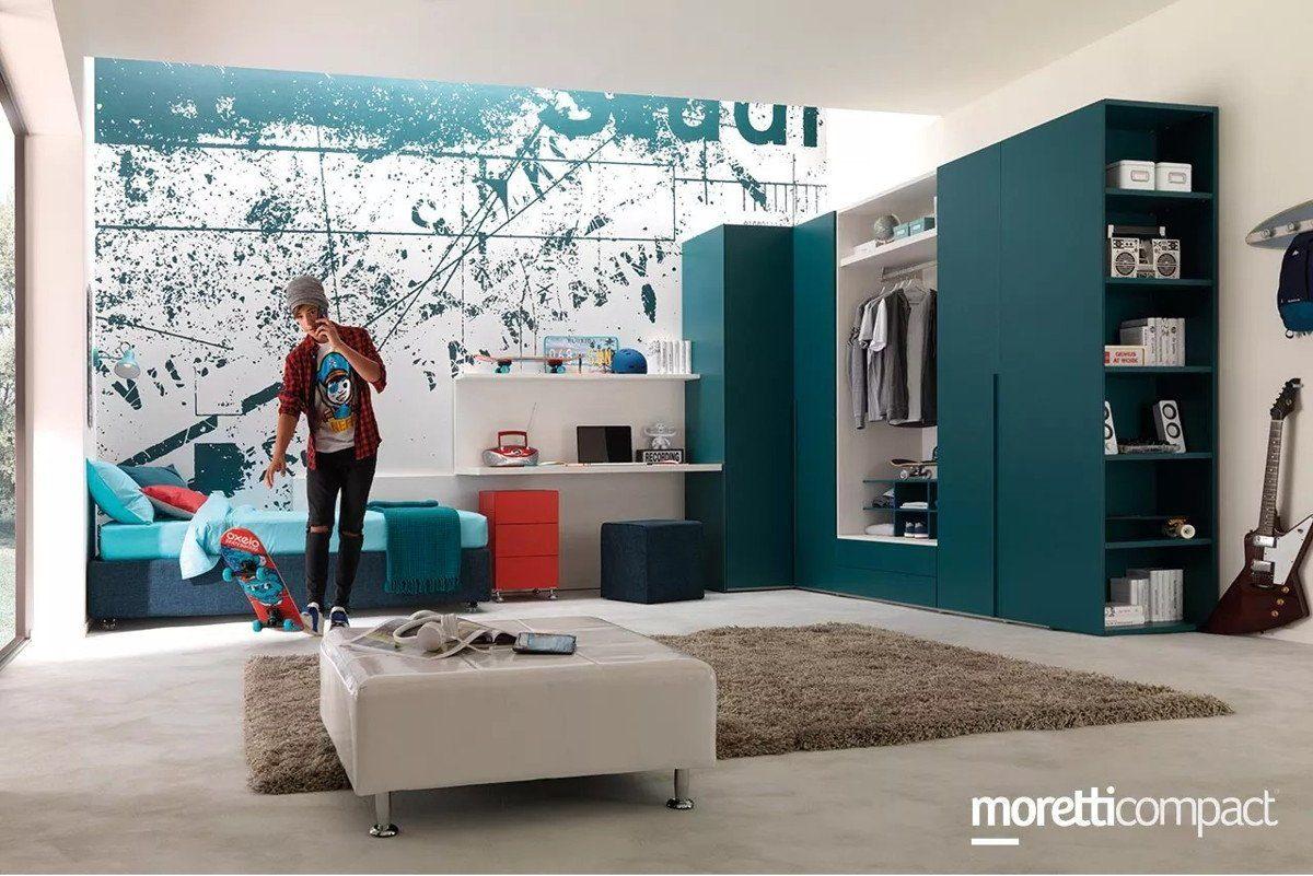 Logica d'arredo: Cameretta Moretti Compact Young YC-310